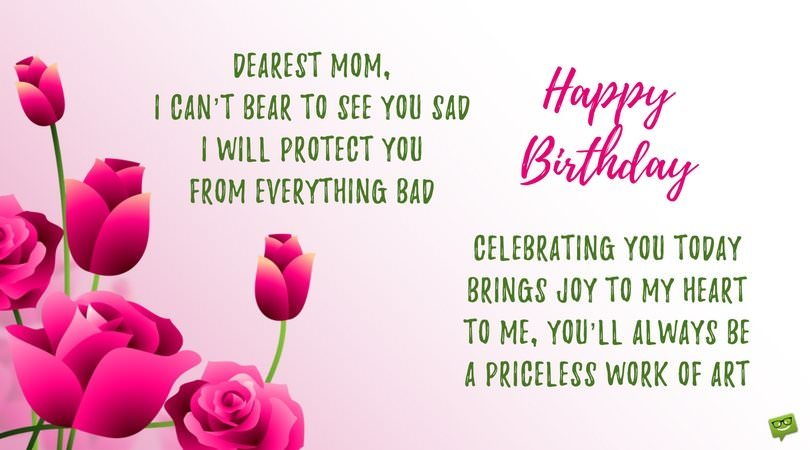 happy birthday mother poems ; Cute-birthday-poem-for-mom