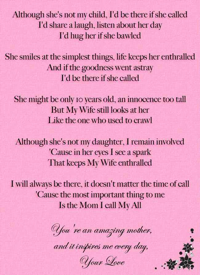 happy birthday mother poems ; poems-for-daughters-birthday-from-mom-9