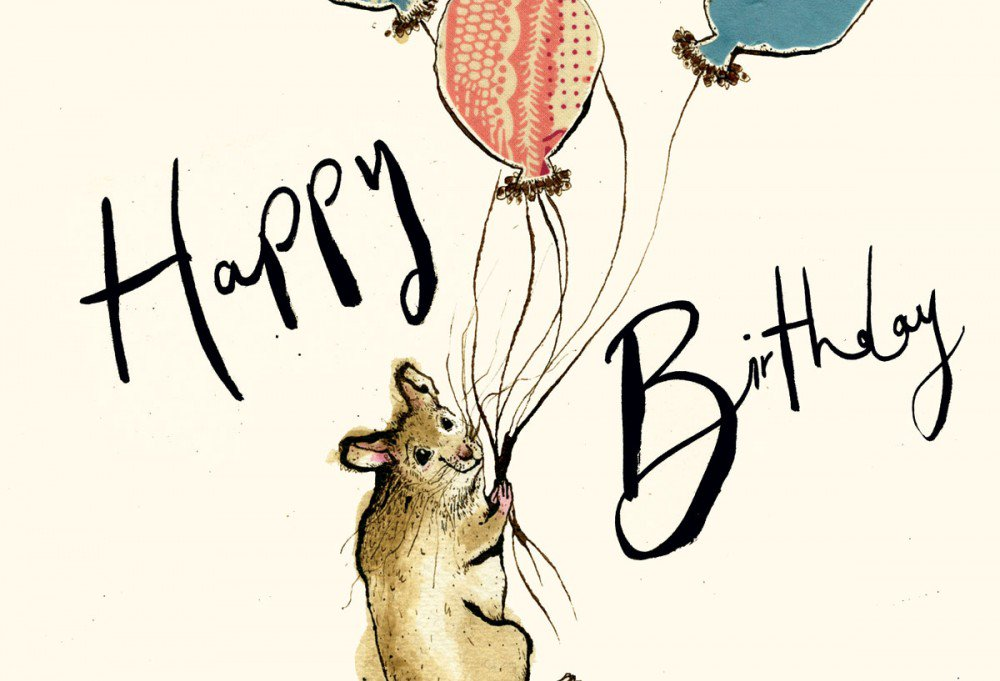happy birthday mouse ; web-2-birthday-mouse