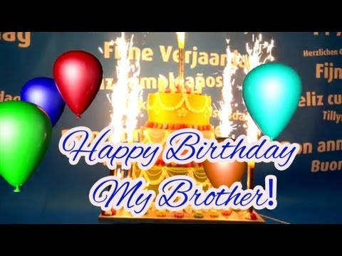 happy birthday my brother images ; hqdefault
