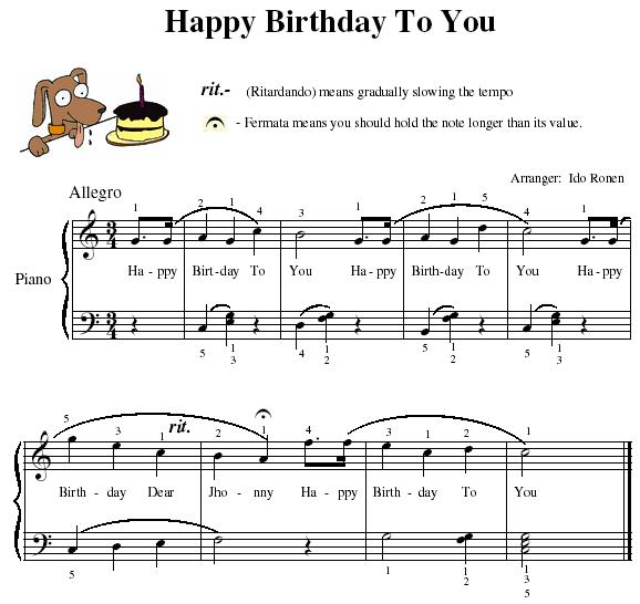 happy birthday notes on casio ; 0387496cf584e1cb3d8a39a86cae653a