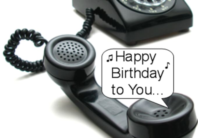 happy birthday on phone ; sing-a-personalized-happy-birthday-song-over-the-phone-in-4-part-harmony