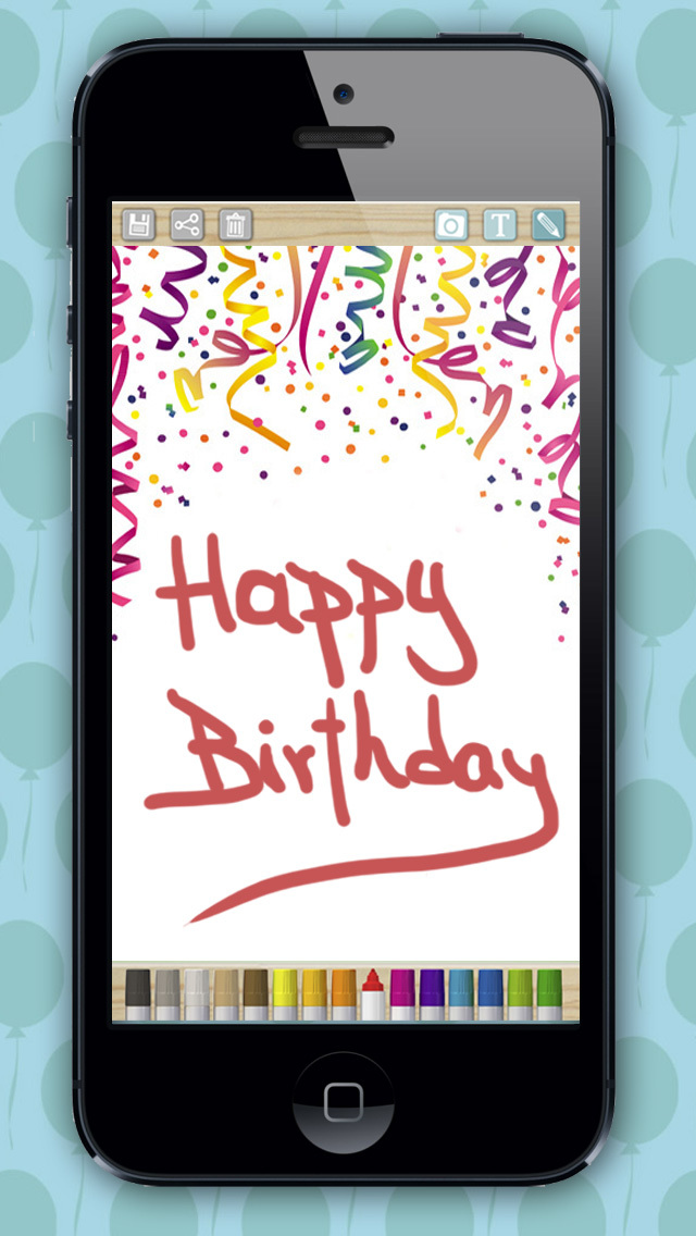 happy birthday on phone ; us-iphone-3-create-birthday-cards-and-design-postcards-to-wish-a-happy-birthday