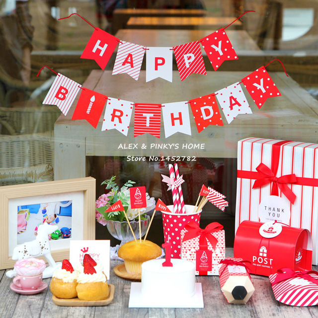 happy birthday party boxes ; Kids-Happy-Birthday-Party-Decoration-Mini-Flags-Garland-Set-Kids-Birthday-Party-Supplies-Birthday-Party-Decorations