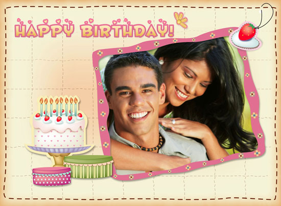 happy birthday photo collage template ; birthday-card3