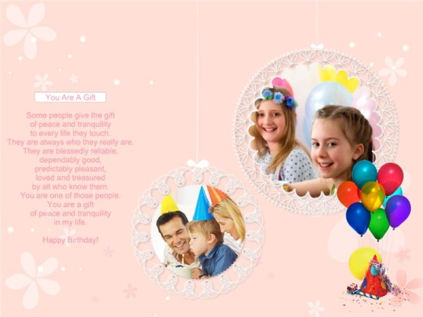 happy birthday photo collage template ; birthday2_17