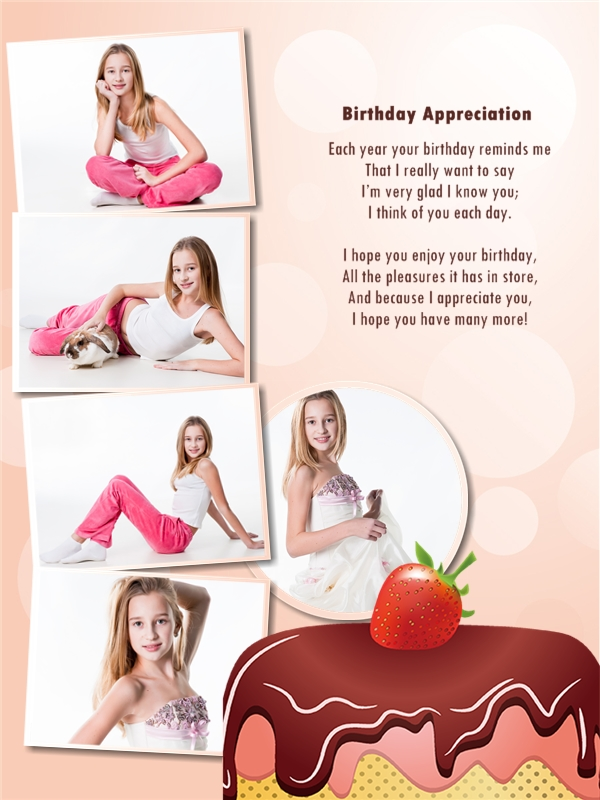 happy birthday photo collage template ; birthday_07