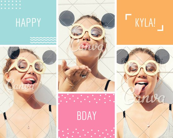 happy birthday photo collage template ; canva-birthday-card-photo-collage-MAB0E7U0COo