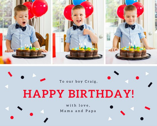 happy birthday photo collage template ; canva-confetti-birthday-shapes-photo-collage-MAB-wU-77Us