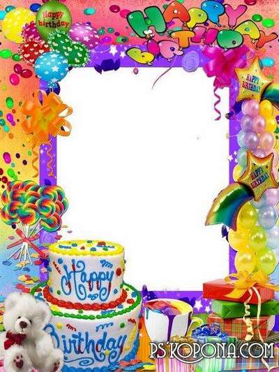 happy birthday photoshop template ; 1443032633_frame-for-photoshop-happy-birthday_