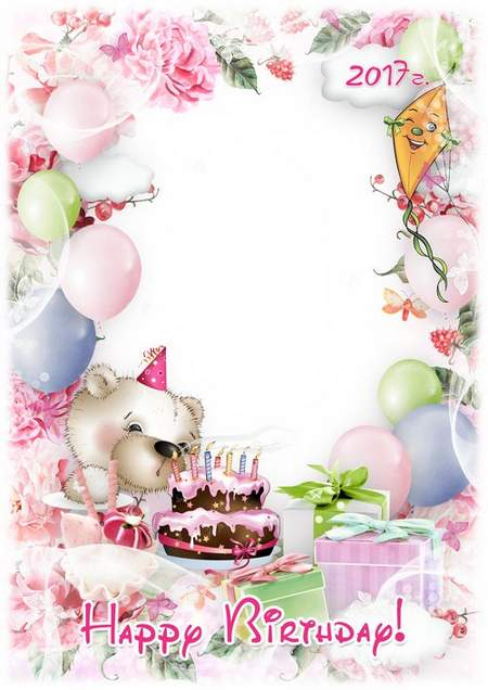 happy birthday photoshop template ; 1484147915_happy-birthday-greeting-photo-frame-template-for-baby-pictures-2