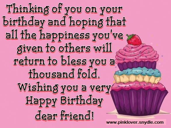 happy birthday picture msg ; birthday-msg-for-a-friend-4