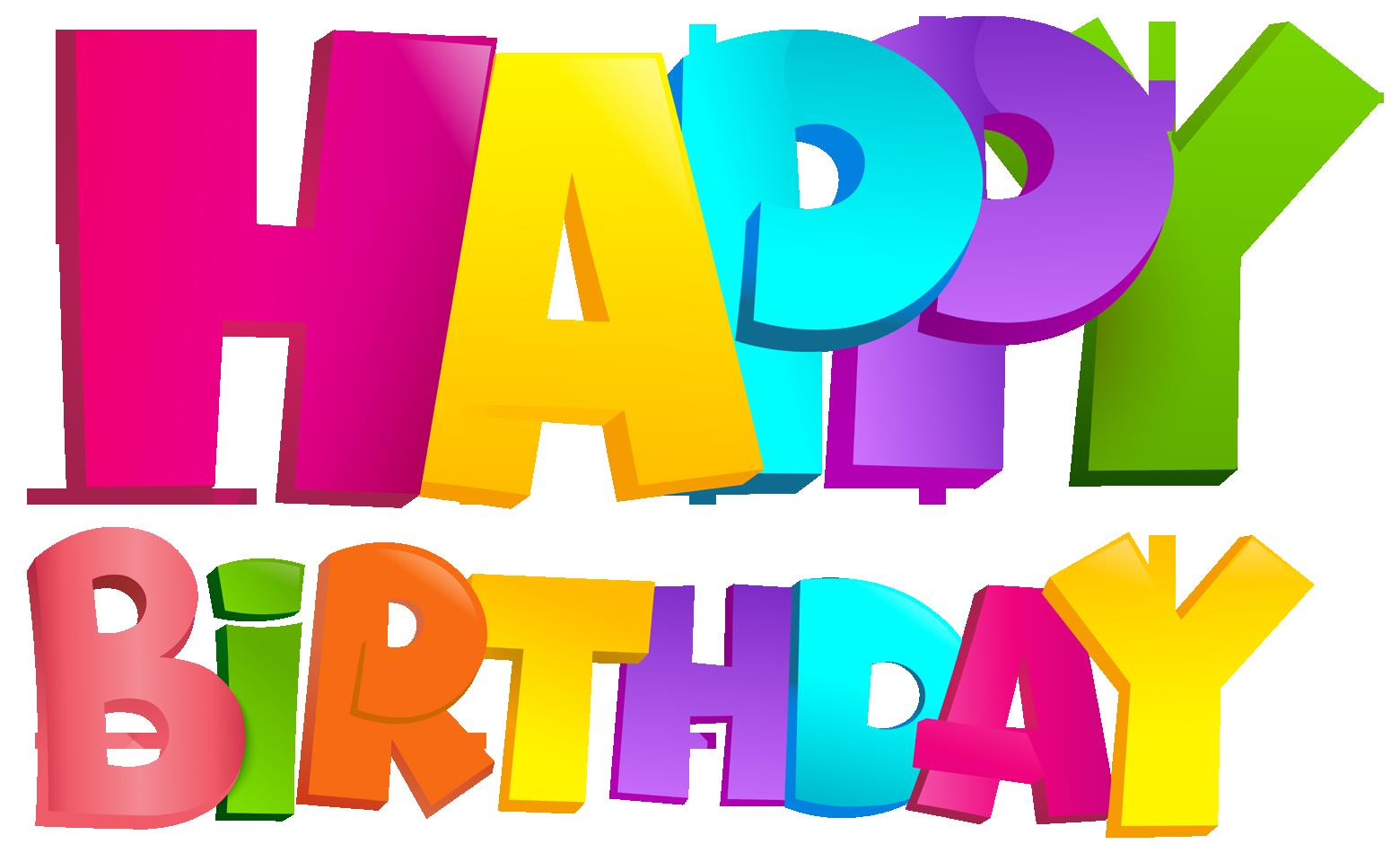 happy birthday png ; Colorful_Happy_Birthday_Text-design_PNG