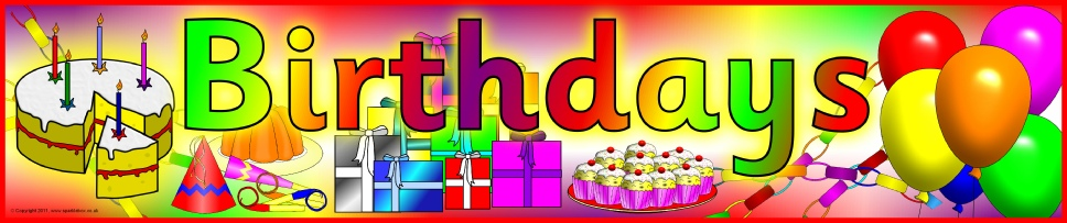 happy birthday poster for classroom ; wpf35011c2_05_06