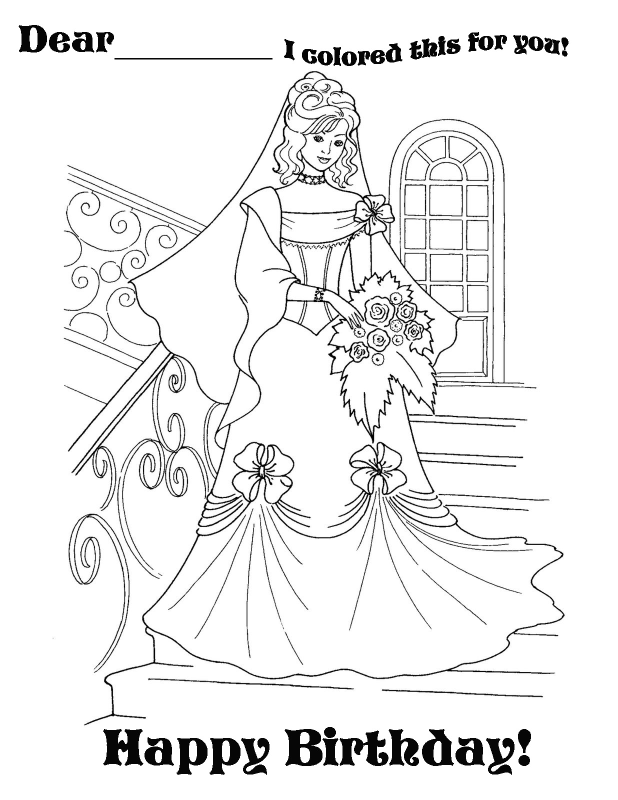 happy birthday princess coloring pages ; princess+happy+birthday