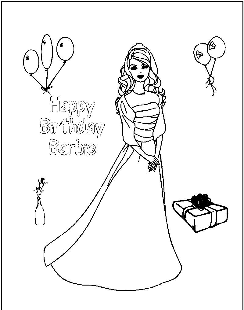 happy birthday princess coloring pages ; simple-free-barbie-coloring-pages-printable-princess-charm-school