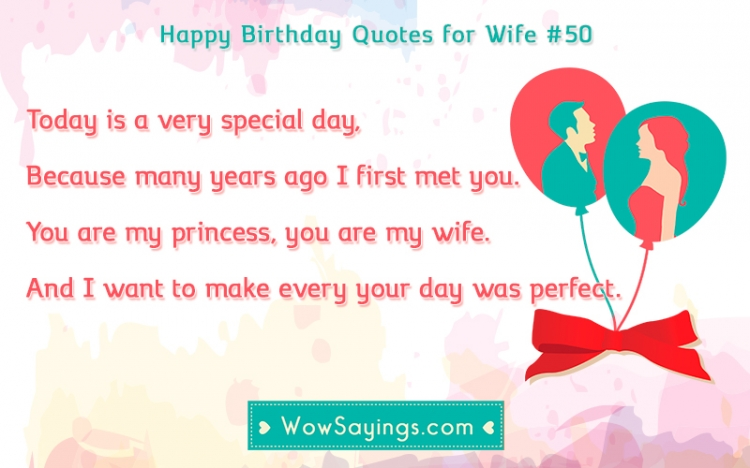 happy birthday princess quotes ; happy-birthday-quotes-for-wife-50