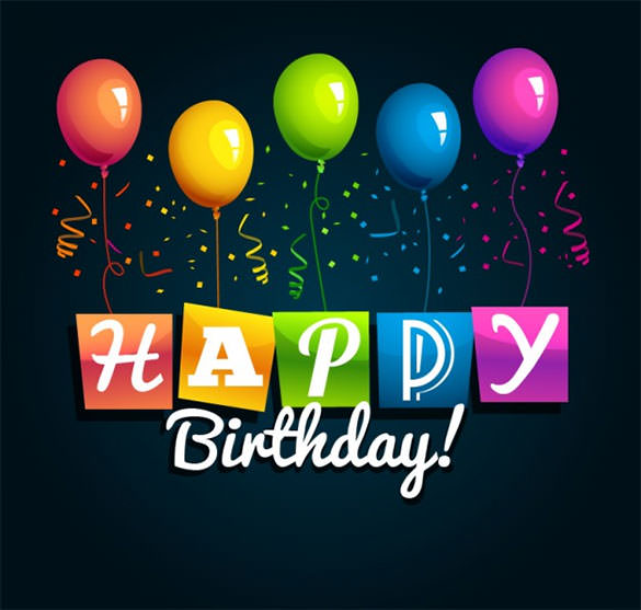 happy birthday psd background ; Happy-Birthday-Vector-Background-Free-Vector
