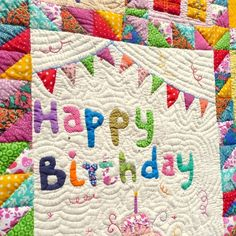 happy birthday quilt images ; 668938231ee6723800f710b59a8676a5--quilt-designs-happy-birthday
