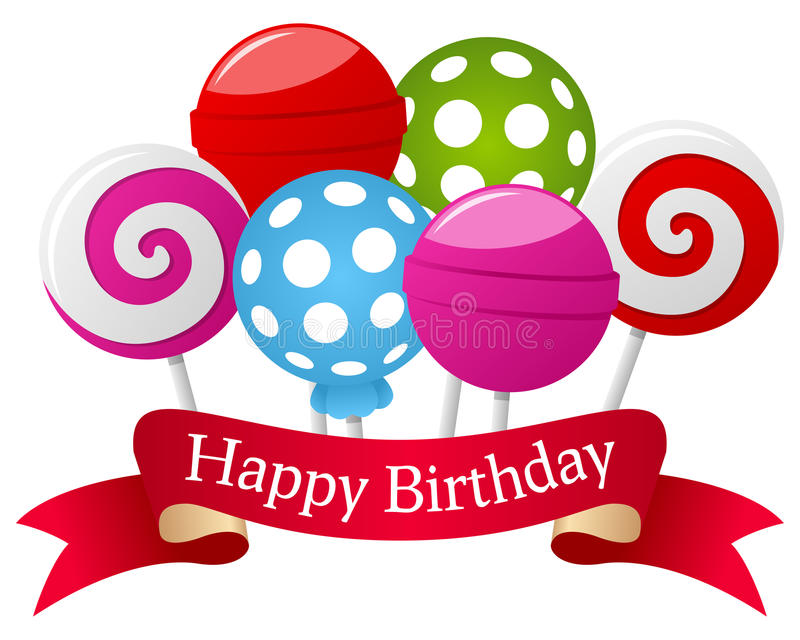 happy birthday ribbon ; happy-birthday-lollipop-ribbon-banner-six-colorful-sweet-red-eps-file-available-31936045