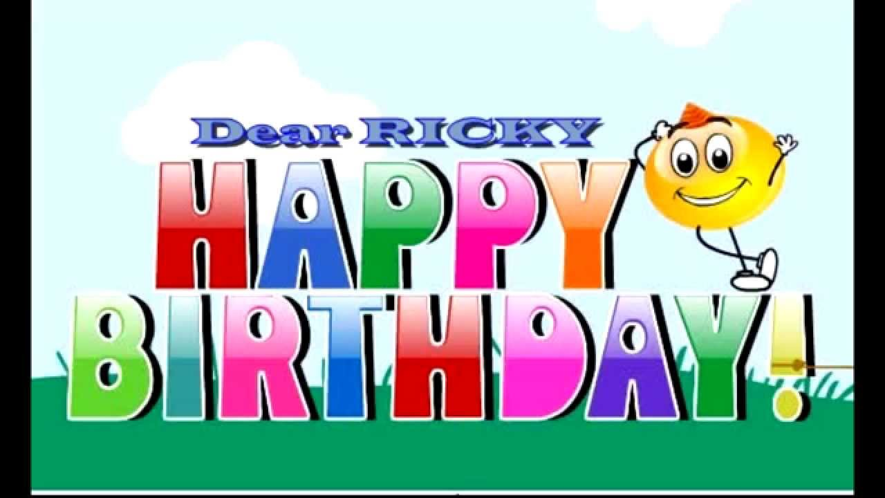 happy birthday ricky images ; maxresdefault-2