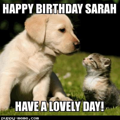 happy birthday sarah images ; 1400664850194