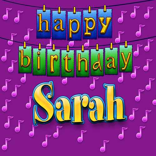 happy birthday sarah images ; 500x500