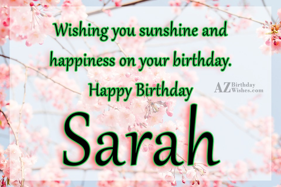 happy birthday sarah images ; azbirthdaywishes-birthdaypics-24485
