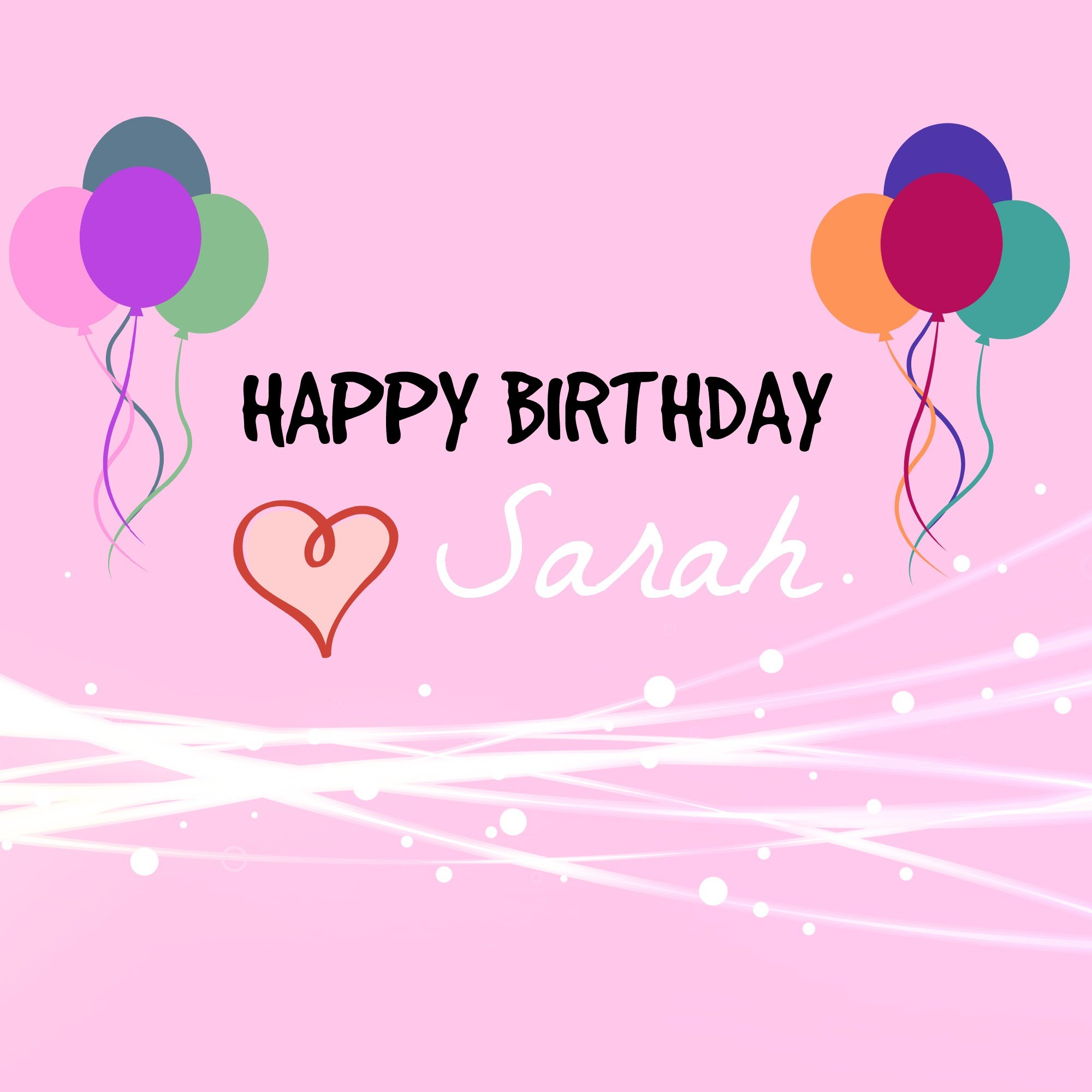happy birthday sarah images ; maxresdefault-3