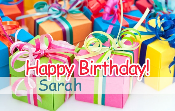happy birthday sarah images ; name_1210