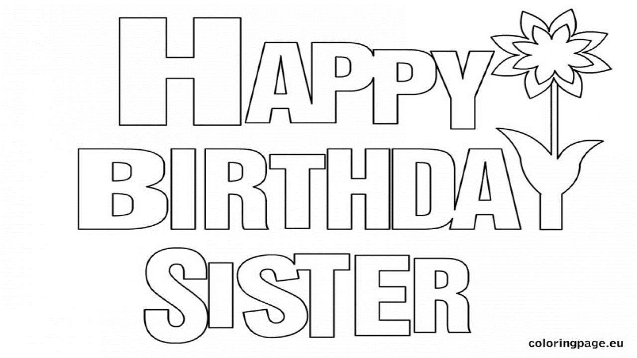 happy birthday sister coloring pages ; happy-birthday-sister-coloring-page