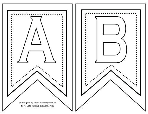 happy birthday stencils to print ; banner-letter-template-free-printable-letters-a-z-0-9-st-rd-decor-flags-birthday-stencils-happy-to-print-alphabet-templates