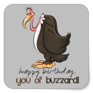 happy birthday stickers for men ; birthday_old_buzzard_mens_party_sticker-r933cc18e3e034ed4a636bb469105c149_v9i40_8byvr_307
