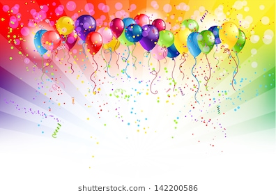 happy birthday tarpaulin background ; multicolored-background-balloons-space-text-260nw-142200586