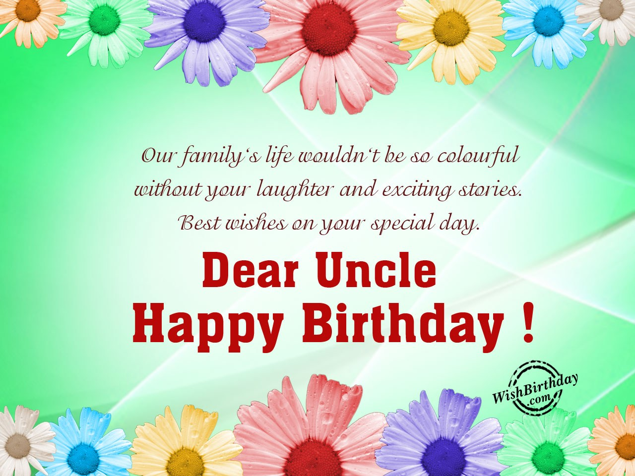 happy birthday tito ; Our-familys-life-wouldnt-be-so-colorful
