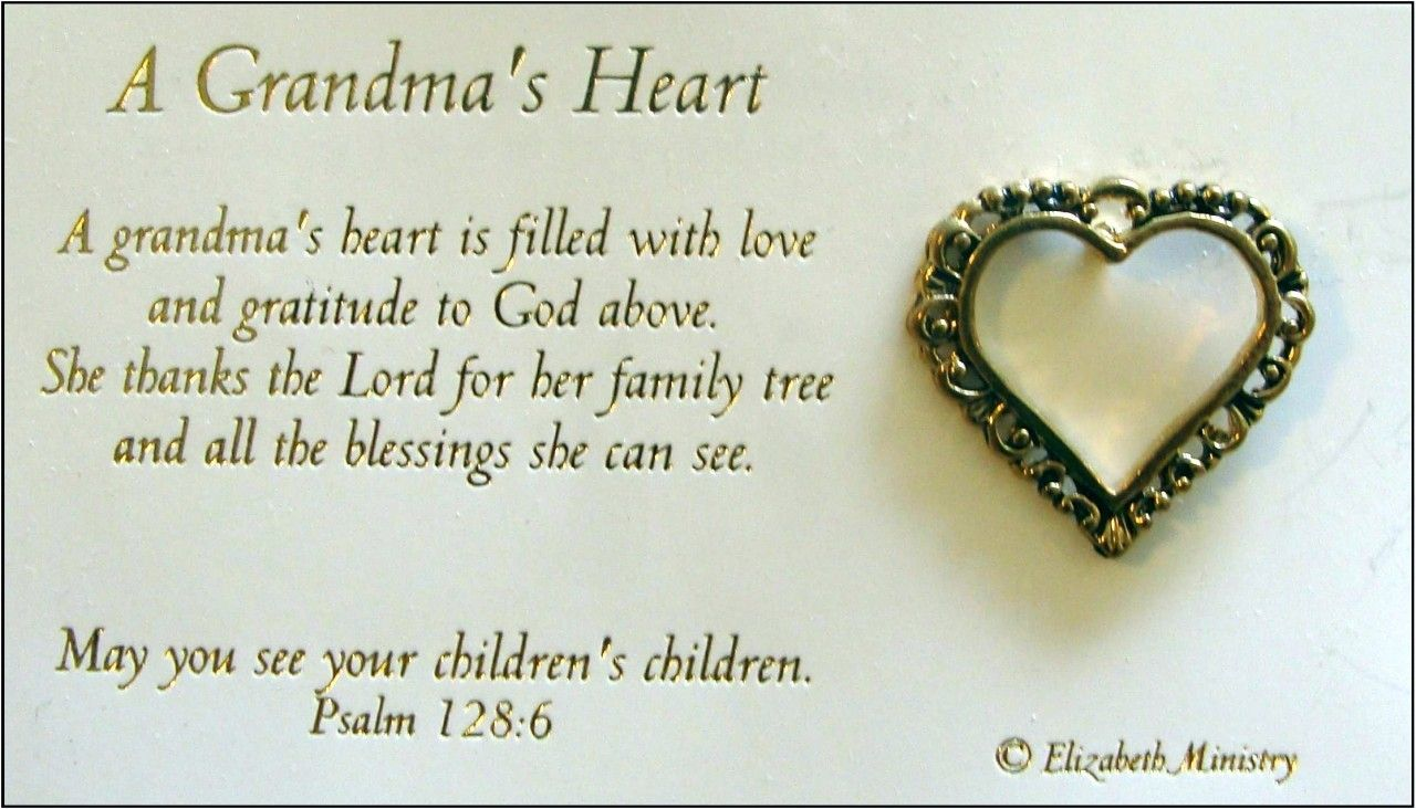 happy birthday to grandma in heaven poem ; 54ecd8840f698d102c45723118851712