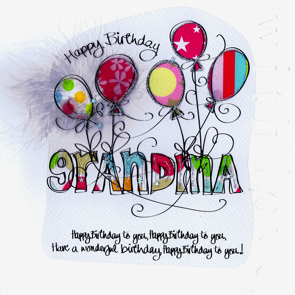 happy birthday to grandma in heaven poem ; Happy-Birthday-Grandma-Pink-Balloons1