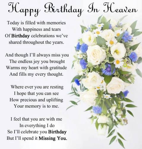 happy birthday to my brother from another mother poem ; happy-birthday-in-heaven