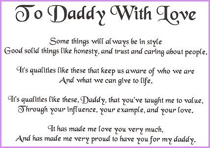 happy birthday to my daddy poem ; 4f4d26b53997194e6087296ee6558854