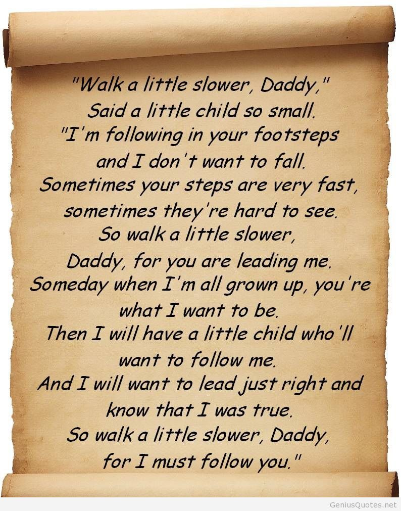 happy birthday to my daddy poem ; Fathers-Day-Dad-Daddy-quotes-wishes-quote-love-poem-walk