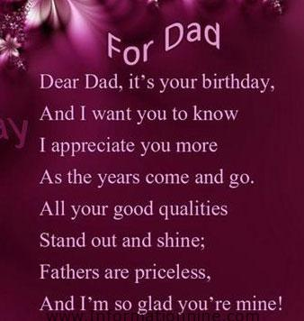 happy birthday to my daddy poem ; poems-for-fathers-birthday-6
