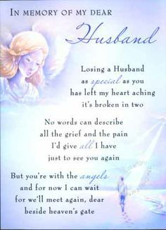 happy birthday to my husband in heaven ; a219ba2f5e3370d218574e28d175401d