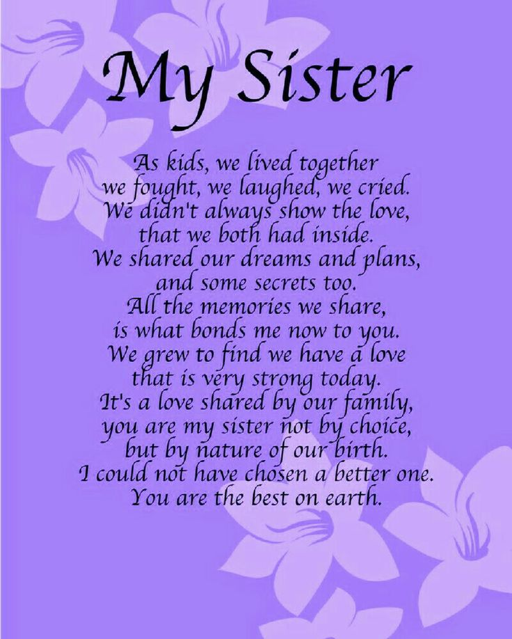 happy birthday to my sister quotes ; 28f01c6d5ae3e200b54d854bf16d10fd--sister-poems-sister-quotes