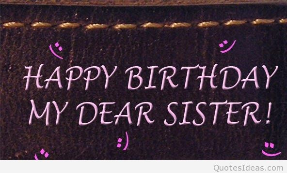 happy birthday to my sister quotes ; happy-birthday-my-dear-sister-smile