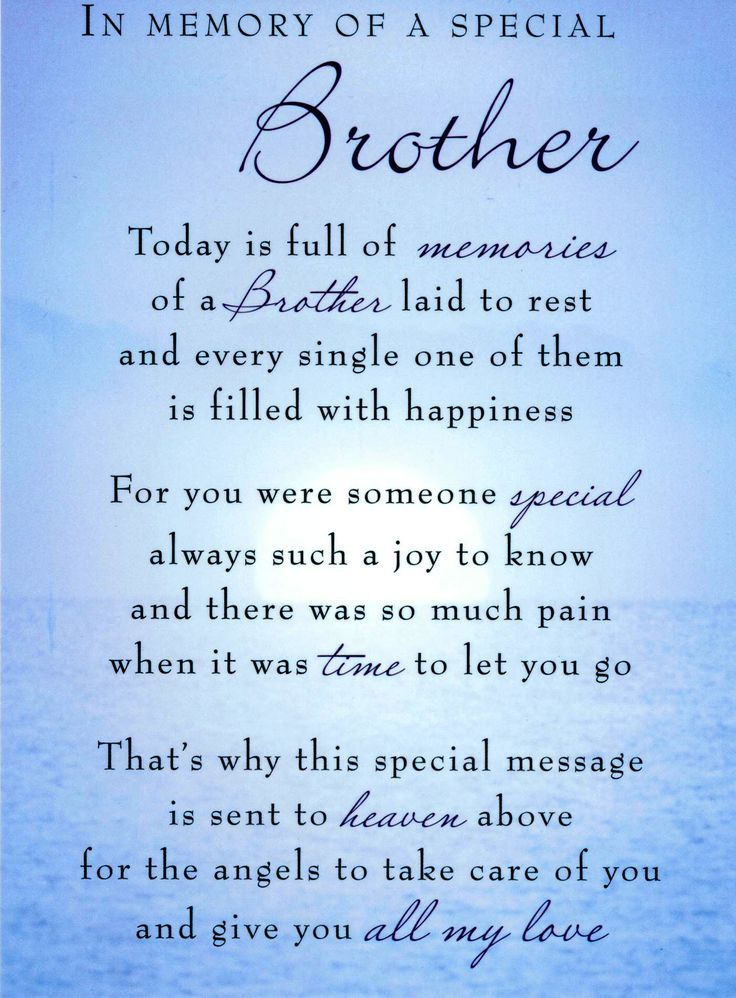 happy birthday to the best brother in the world poem ; 00680fddeebb27e8197a756c75cc19f2--missing-brother-quotes-brother-poems