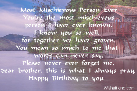 happy birthday to the best brother in the world poem ; 1986-brother-birthday-poems