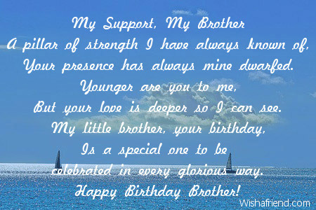 happy birthday to the best brother in the world poem ; 2015-brother-birthday-poems