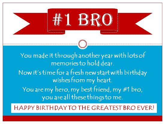 happy birthday to the best brother in the world poem ; 214ee891f9e592371f972cf34e9e5c1c
