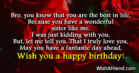 happy birthday to the best brother in the world poem ; 9356-brother-birthday-poems