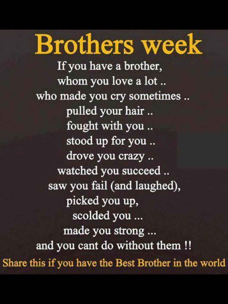 happy birthday to the best brother in the world poem ; a2e8e7e9c141d54209d4dae2252d055f
